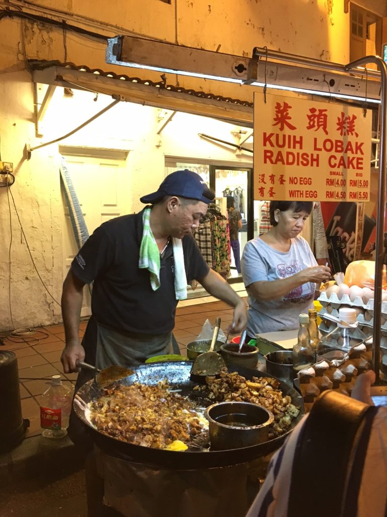 Street food at Jonker Street, Pic was a doc from previous trip.